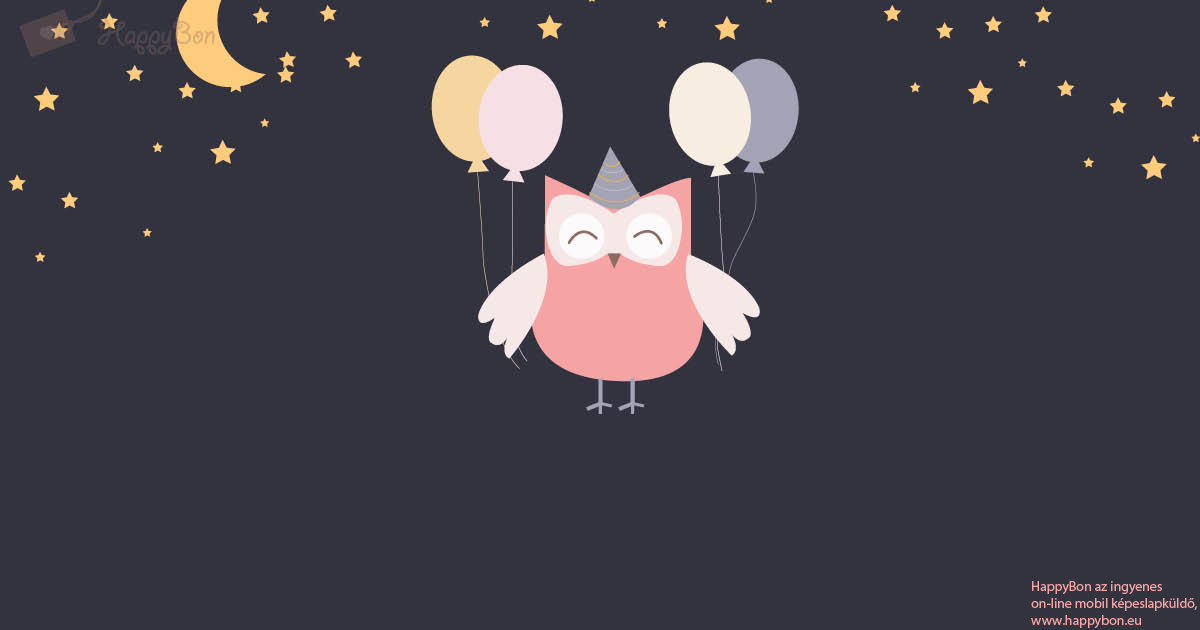 születésnapi üdvözlet küldése Ingyenes egyedi születésnapi képeslapok küldése, HappyBon  születésnapi üdvözlet küldése